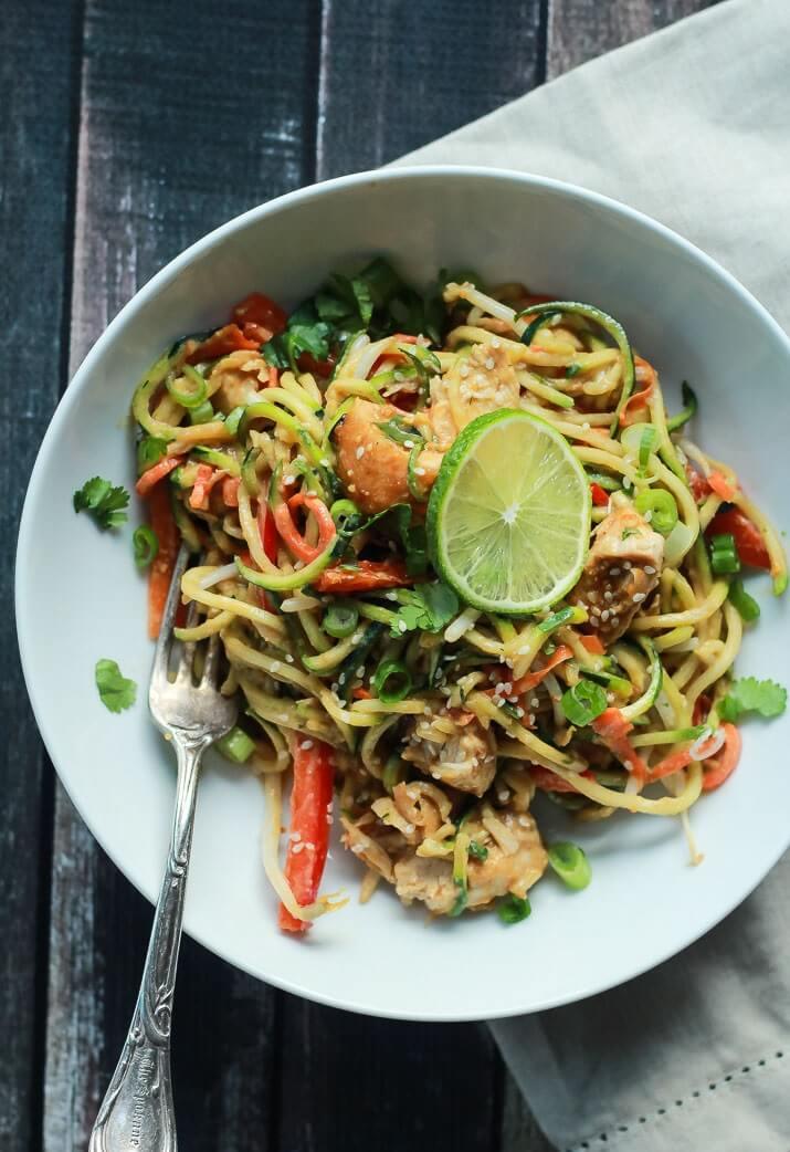 Тайский рецепт с кабачками