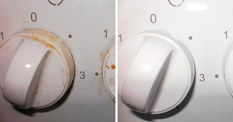 Копеечное средство в борьбе с грязными ручками у плиты!