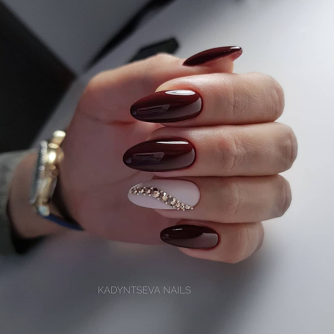 Burgundy, like red manicure, is a classic!  Great selection!