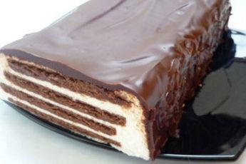 Творожный-торт-Полосатый-без-выпечки