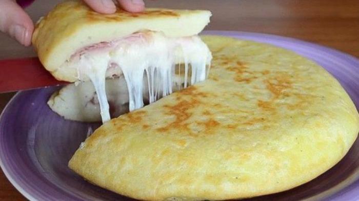 Сырные лепешки - Мексиканская лепешка