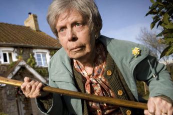 **THIS IMAGE IS UNDER EMBARGO UNTIL TUESDAY 11TH MAY 2010**  Picture shows: Mrs Poggit (AUDREY ARDINGTON).  TX: BBC ONE Saturday 15th May 2010