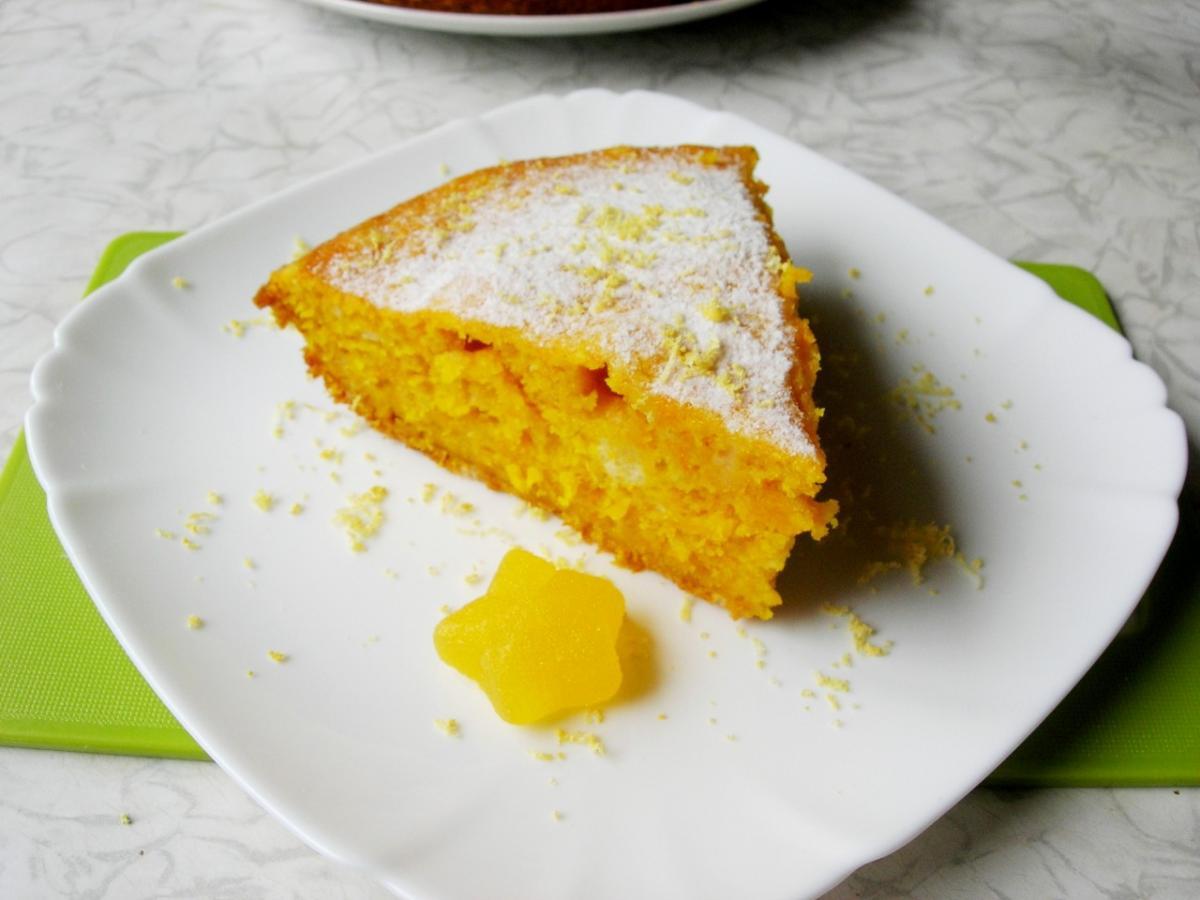 Восхитительный тыквенный пирог без масла и муки