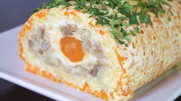 Салат-рулет «Селедка в шубе»: удивите всех оригинальным блюдом