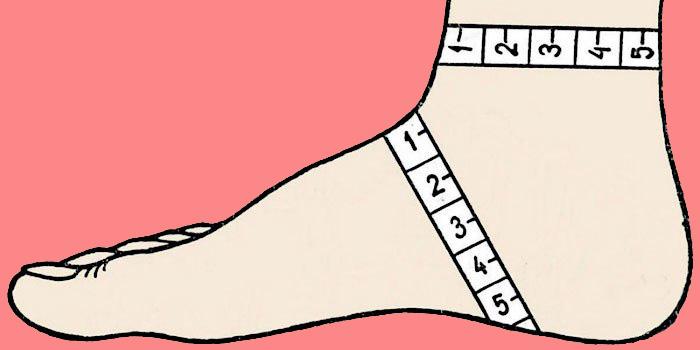 носки на двух спицах без шва