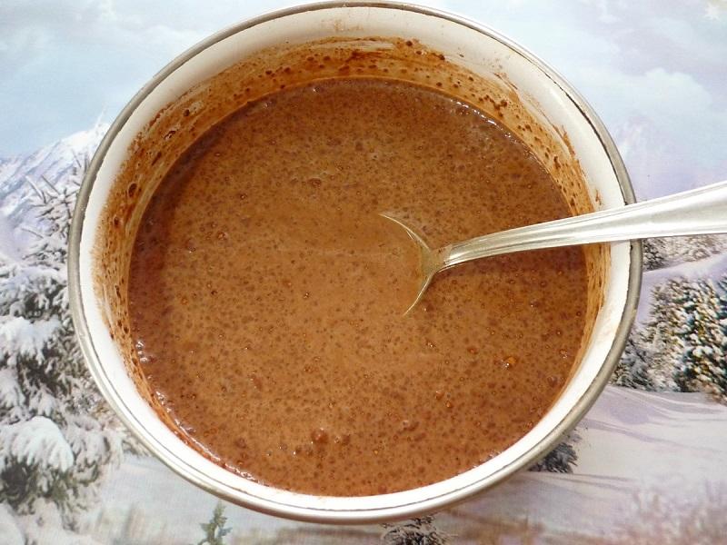 какао и молоко