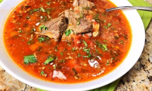 """Суп """"Харчо"""": вкуснейший рецепт, получится даже у начинающей хозяйки"""