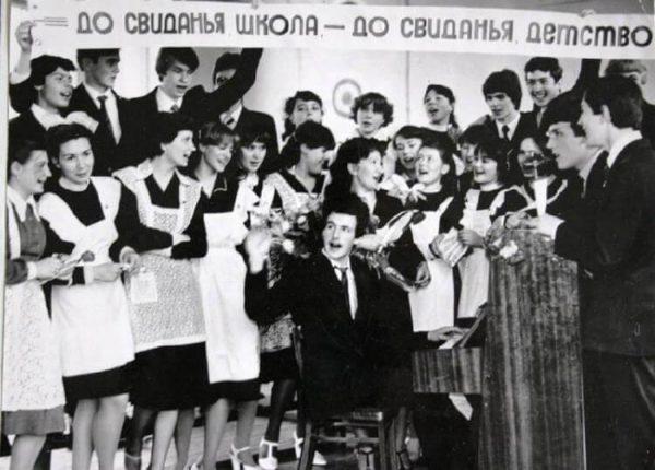 Как выглядели школьницы в 70-80 х годах. Фото