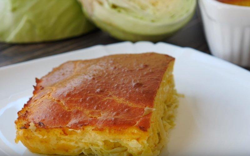 капустный пирог заливной рецепт