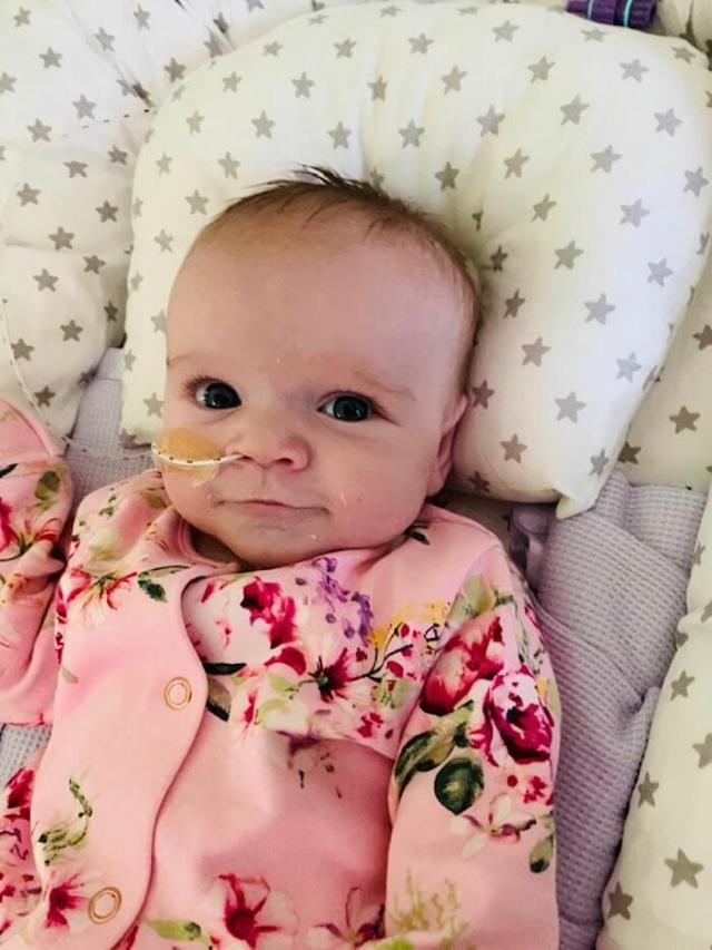 6-месячная малышка победила COVID-19, несмотря на проблемы с сердцем и лёгкими