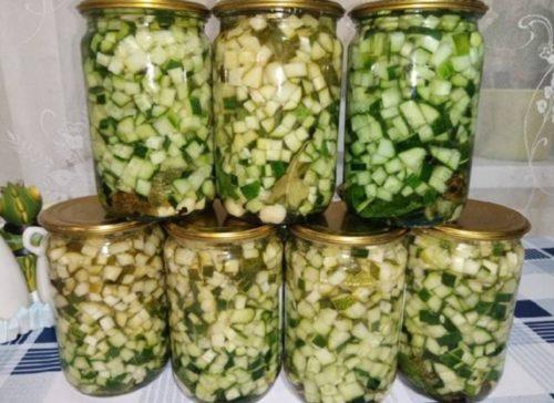 Потрясающая заготовка на зиму для оливье и других салатов. Открыл и высыпай
