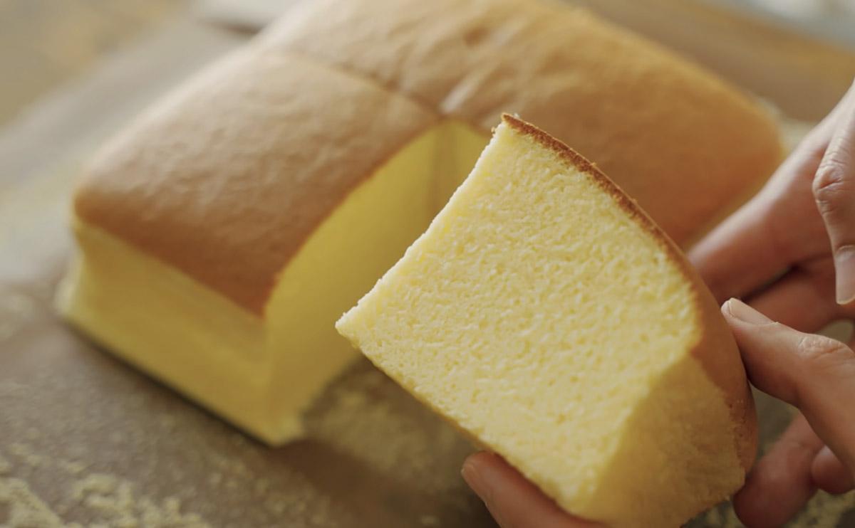 готовый яичный пирог