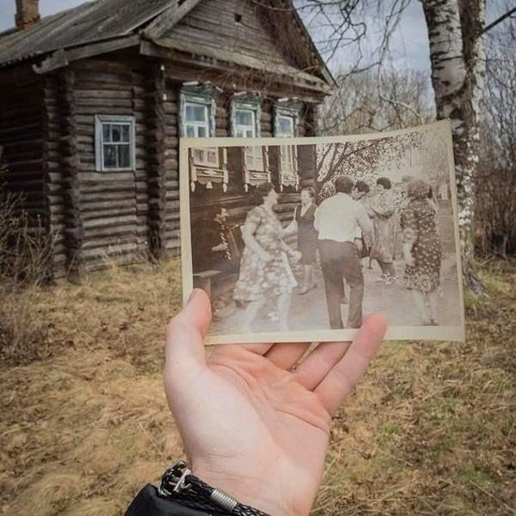Моменты из прошлого, которые невозможно забыть (Фото)